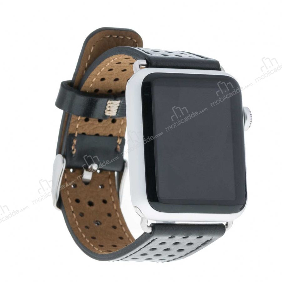 Bouletta Apple Watch Gerçek Deri Kordon RST1 (38 mm)
