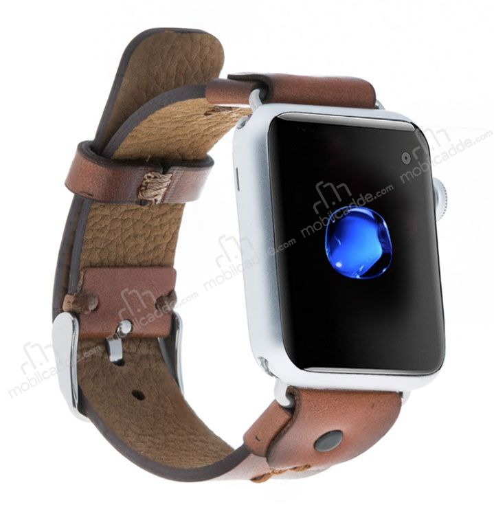 Bouletta Apple Watch Gerçek Deri Kordon RST2EF (42 mm)