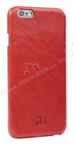 Iphone 6 Plus Red >> Burkley Snap On Iphone 6 Plus 6s Plus Gercek Deri Creased Red