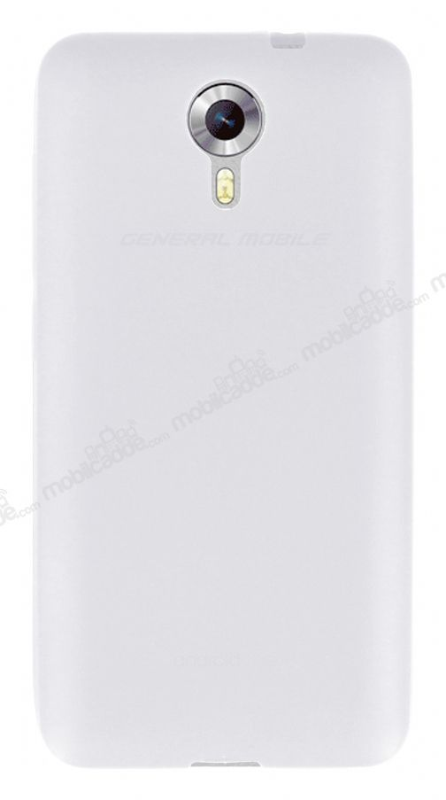 Dafoni Air Slim General Mobile Android One / General Mobile GM 5 Ultra İnce Mat Şeffaf Silikon Kılıf