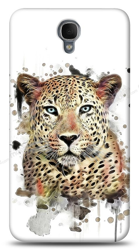 Alcatel One Touch idol 2 OT-6037 Leopard Kılıf