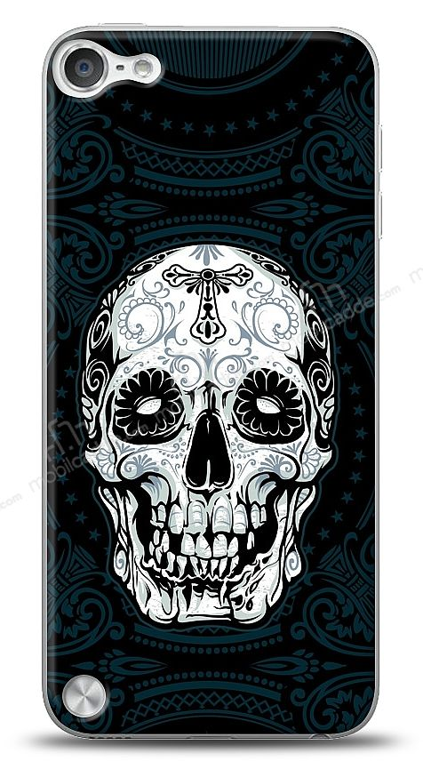Apple iPod Touch / Touch 5 Black Skull Kılıf