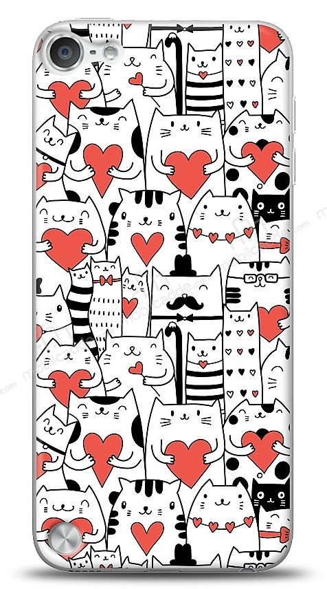 Apple iPod Touch / Touch 5 Love Cats Kılıf