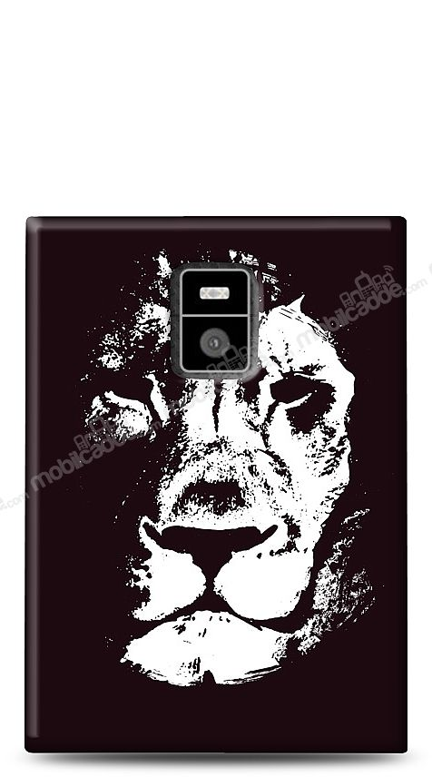 BlackBerry Passport Black Lion Kılıf