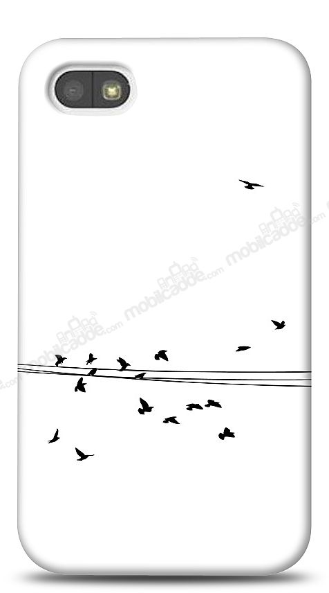 BlackBerry Q5 Flying Birds Kılıf