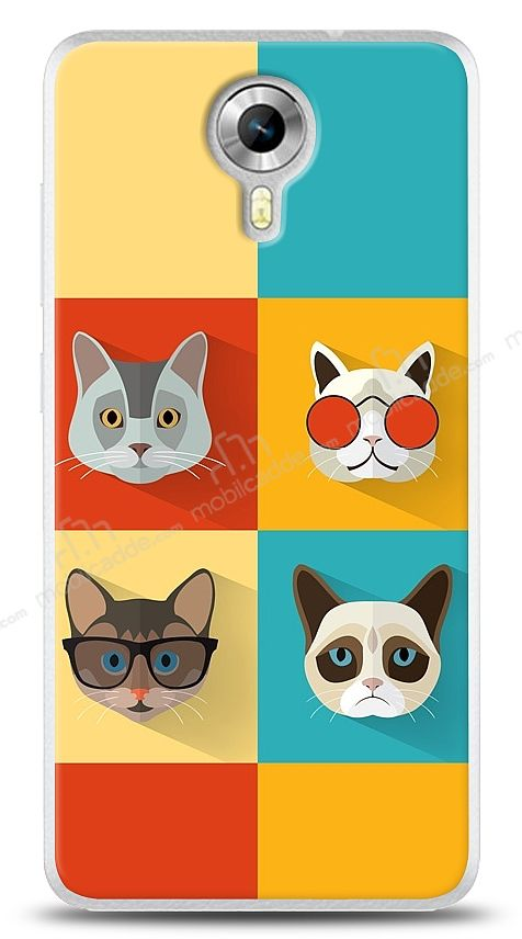 General Mobile Android One Four Cats Kılıf