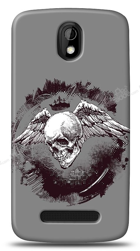HTC Desire 500 Angel Of Death Kılıf