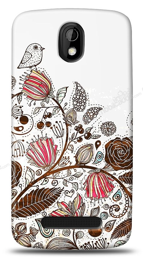 HTC Desire 500 Draw Bird Kılıf