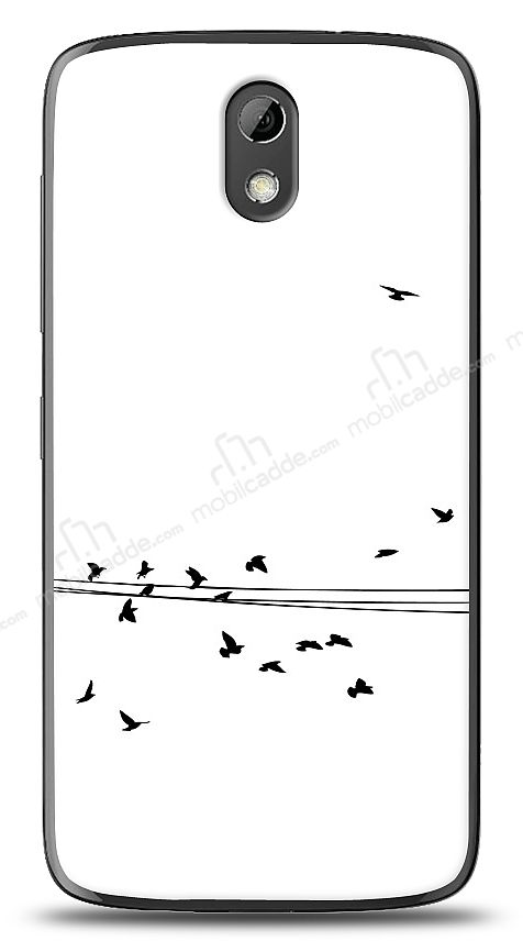 HTC Desire 526 Flying Birds Kılıf