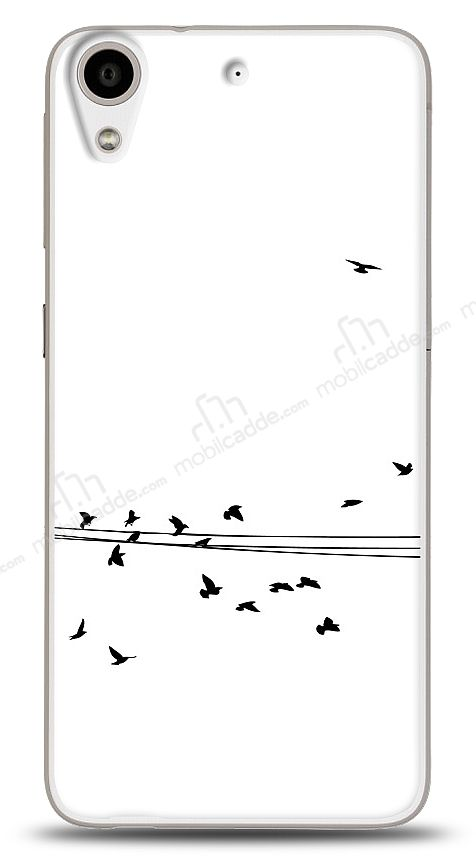 HTC Desire 626 Flying Birds Kılıf