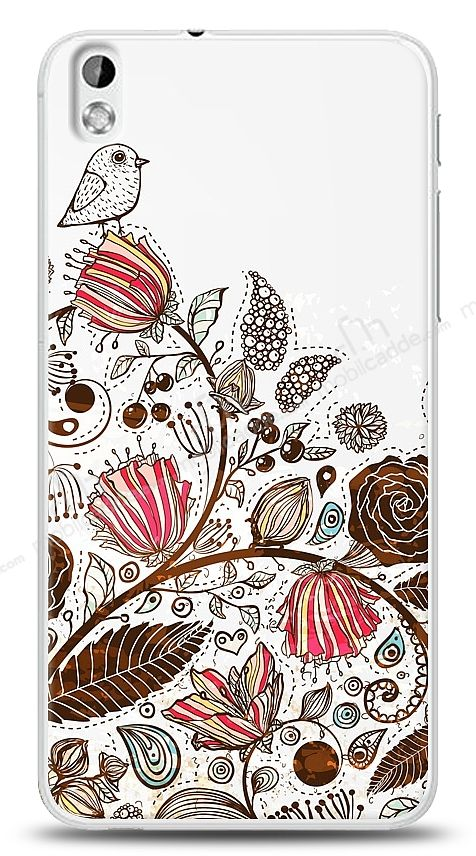 HTC Desire 816 Draw Bird Kılıf