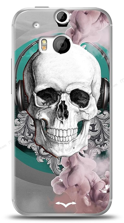HTC One M8 Lovely Skull Kılıf