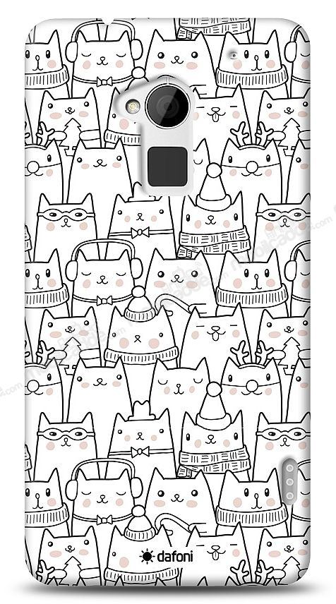 HTC One Max Cats Kılıf
