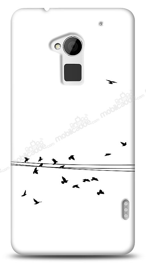 HTC One Max Flying Birds Kılıf