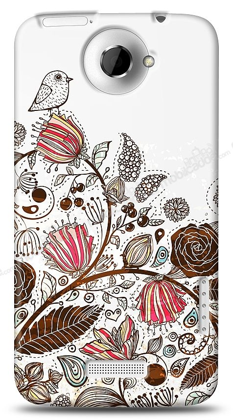 HTC One X Draw Bird Kılıf