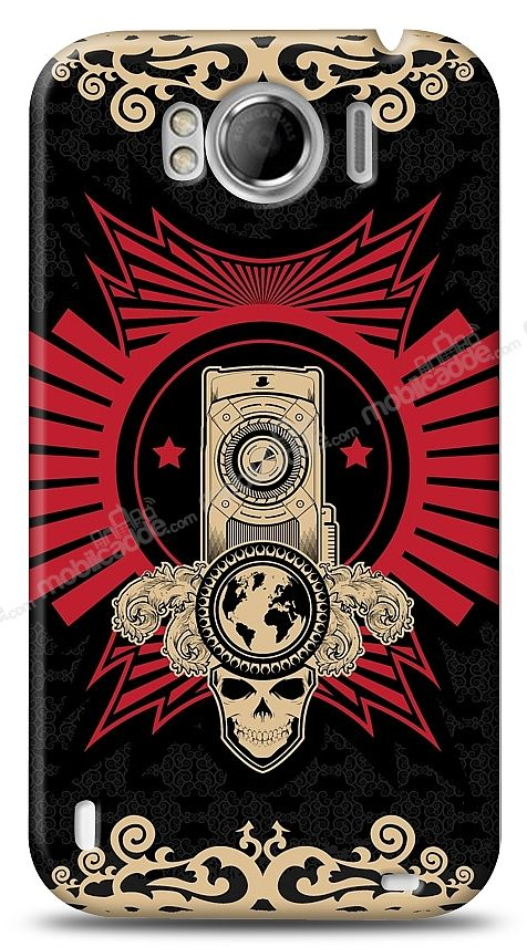 HTC Sensation XL Skull Nation Kılıf