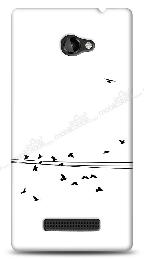 HTC Windows Phone 8X Flying Birds Kılıf