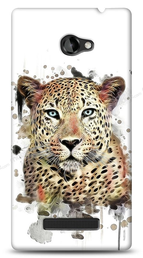 HTC Windows Phone 8X Leopard Kılıf