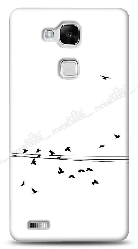 Huawei Ascend Mate 7 Flying Birds Kılıf