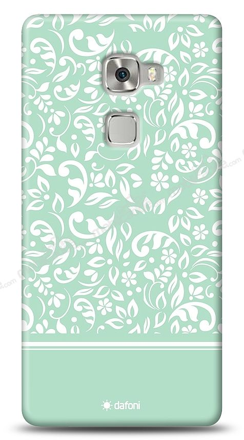 Huawei Ascend Mate S Green Flower Kılıf