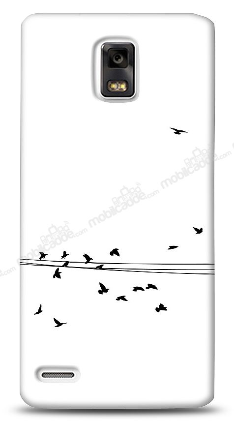 Huawei Ascend P1 Flying Birds Kılıf