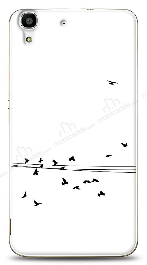 Huawei Y6 Flying Birds Kılıf