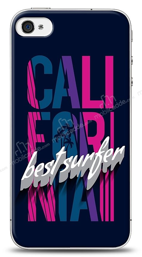 iPhone 4 / 4S California Surfer Kılıf