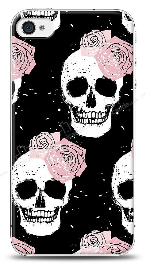 iPhone 4 / 4S Cranium Rose Kılıf