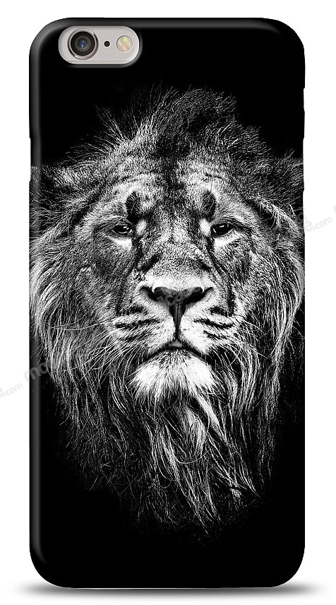 iPhone 6 Black Lion Kılıf