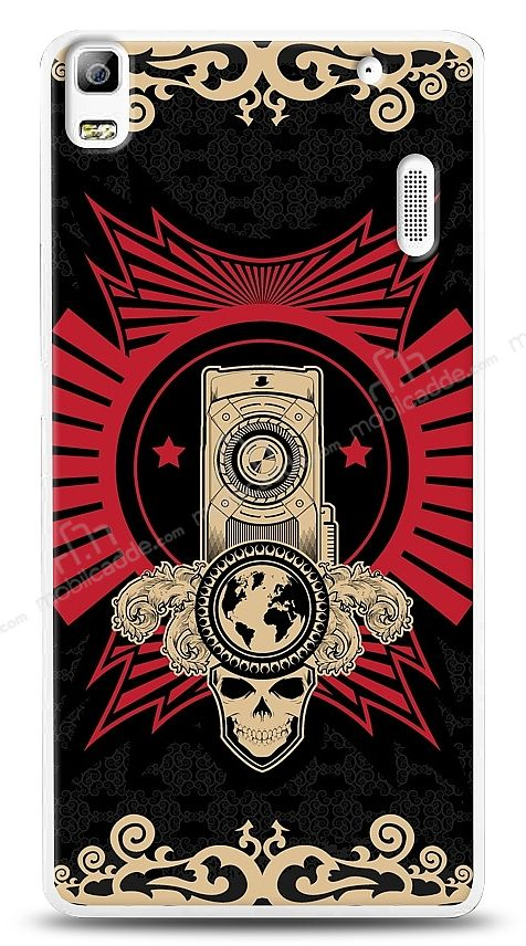 Lenovo K3 Note Skull Nation Kılıf