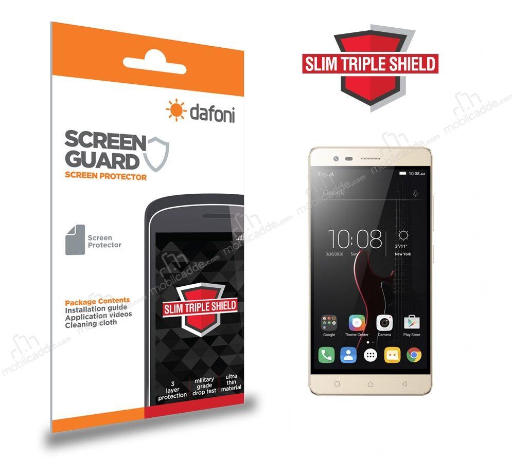Dafoni Lenovo Vibe K5 Note Slim Triple Shield Ekran Koruyucu