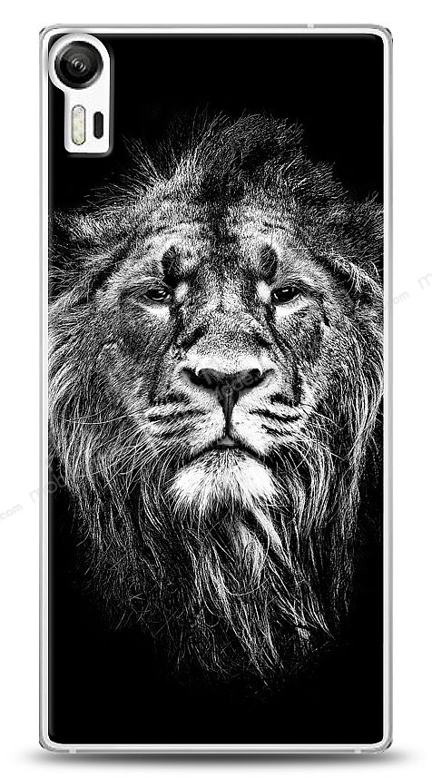 Lenovo Vibe Shot Black Lion Kılıf