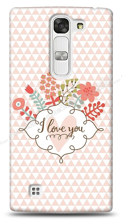 LG G4c I Love You Kılıf