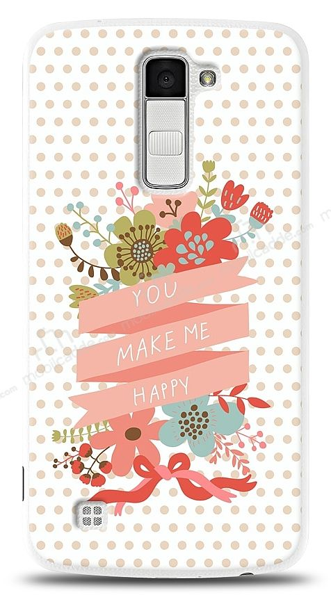 LG K10 You Make Me Happy Kılıf