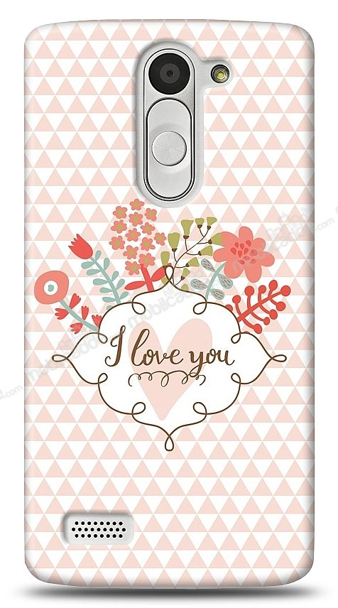 LG L Bello I Love You Kılıf