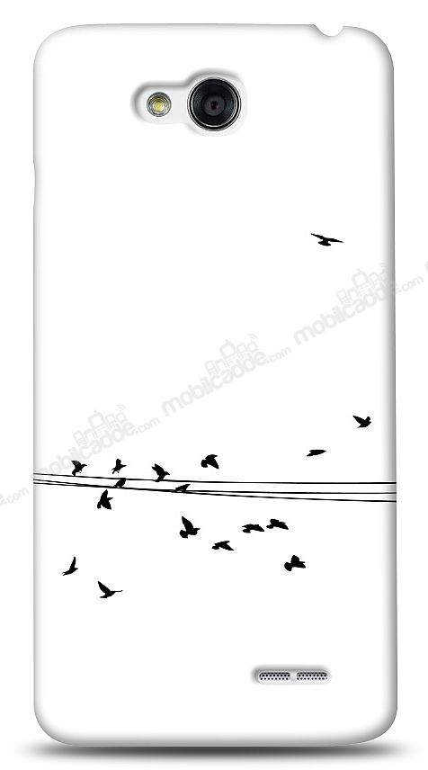LG L90 Flying Birds Kılıf