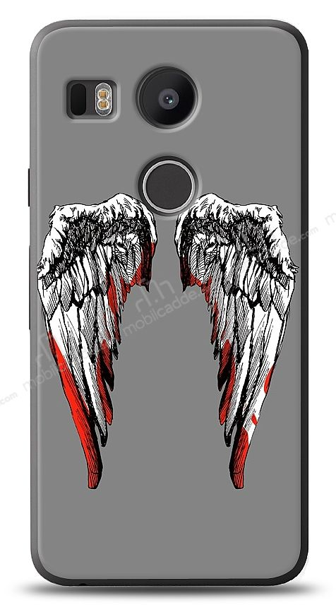 LG Nexus 5X Bloody Angel Kılıf