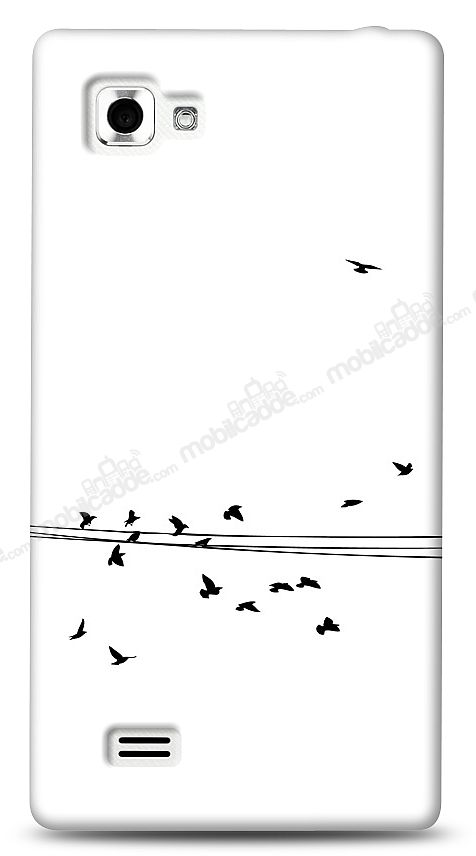 LG Optimus 4X HD Flying Birds Kılıf