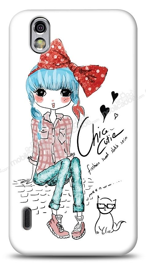 LG Optimus Black Cute Chic Kılıf