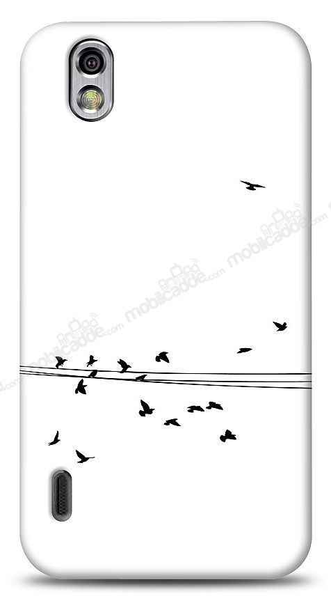 LG Optimus Black Flying Birds Kılıf