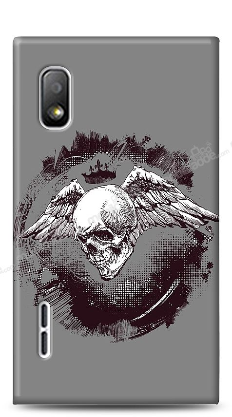 LG Optimus L5 Angel Of Death Kılıf
