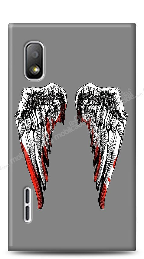 LG Optimus L5 Bloody Angel Kılıf