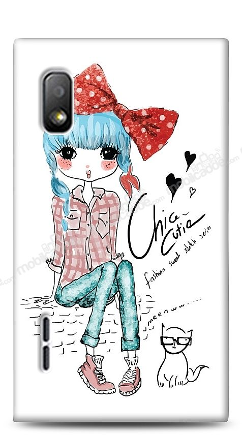 LG Optimus L5 Cute Chic Kılıf