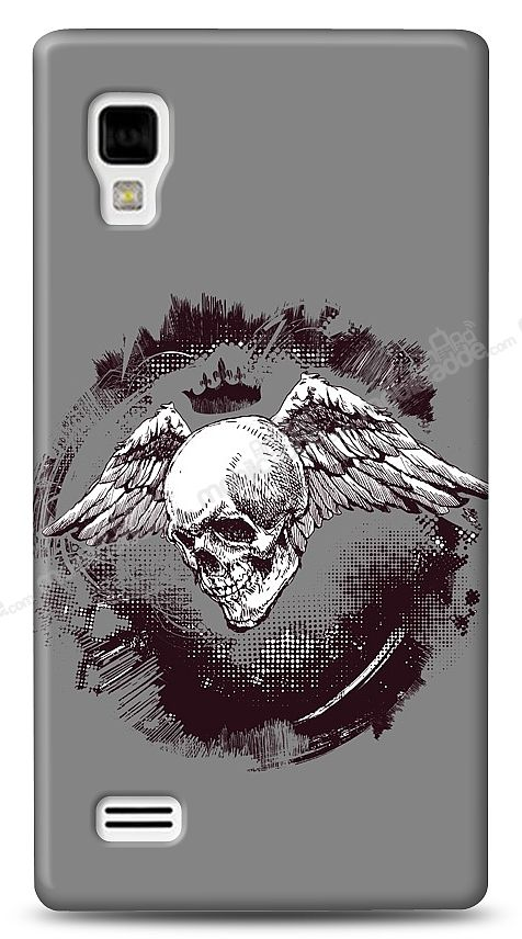 LG Optimus L9 P760 Angel Of Death Kılıf