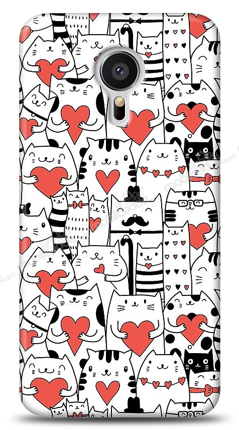 Meizu MX5 Love Cats Kılıf