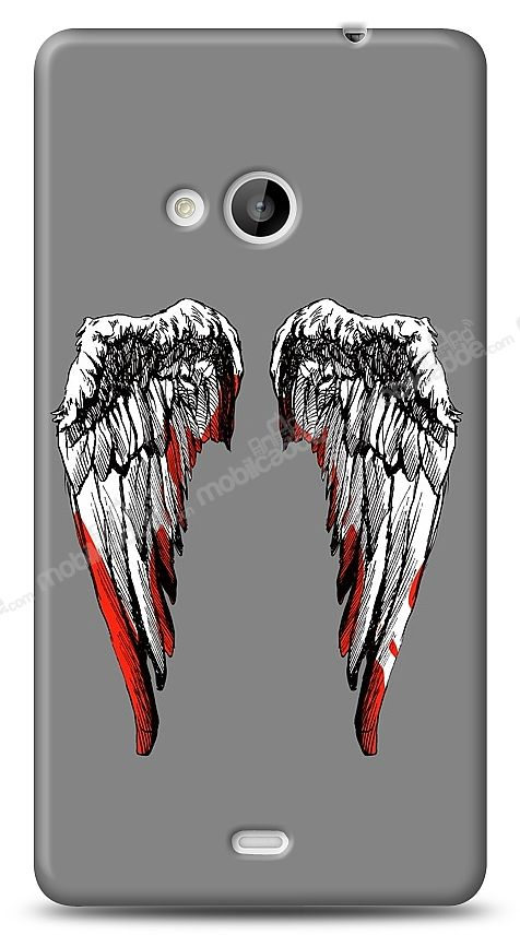 Microsoft Lumia 535 Bloody Angel Kılıf