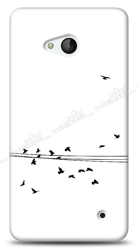 Microsoft Lumia 640 Flying Birds Kılıf