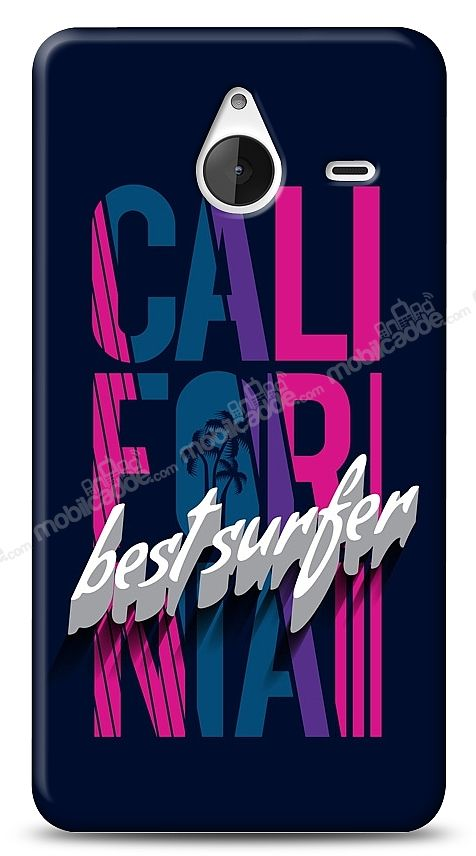 Microsoft Lumia 640 XL California Surfer Kılıf