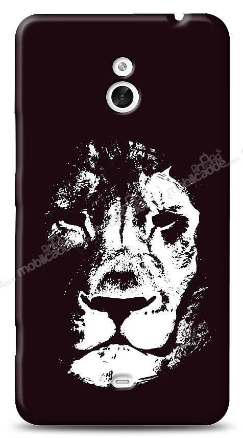 Nokia Lumia 1320 Black Lion Kılıf