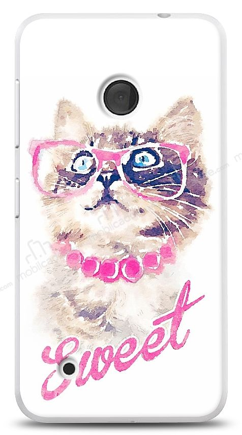 Nokia Lumia 530 Sweet Cat Kılıf